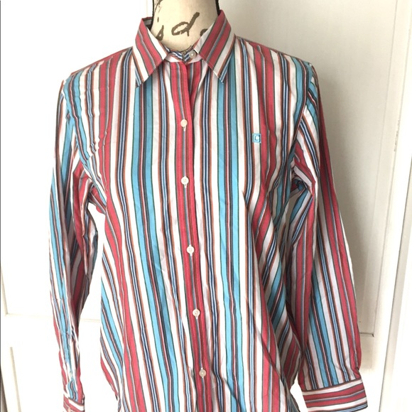 88fa6cab Chaps Tops | New Womens Long Sleeve Button Down Shirt Med | Poshmark